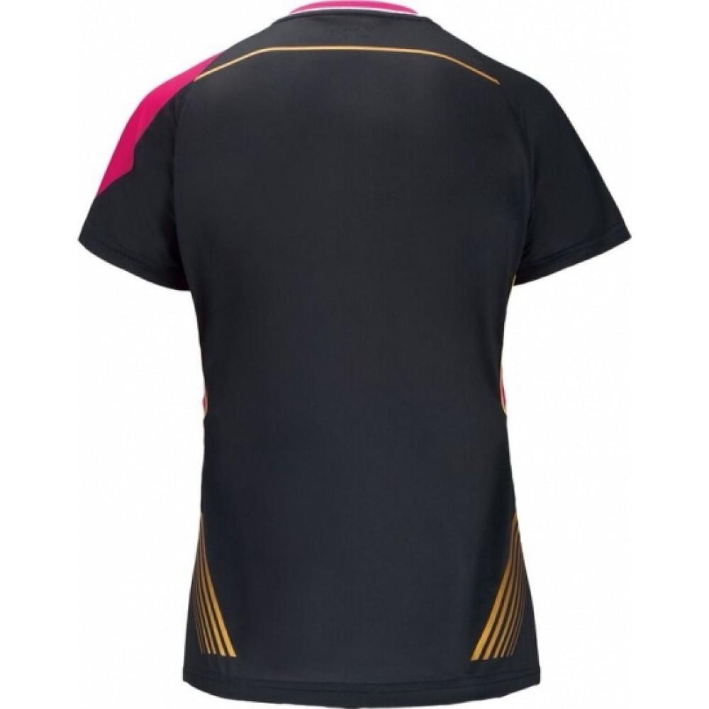 VICTOR T-shirt black female OL Korea-31