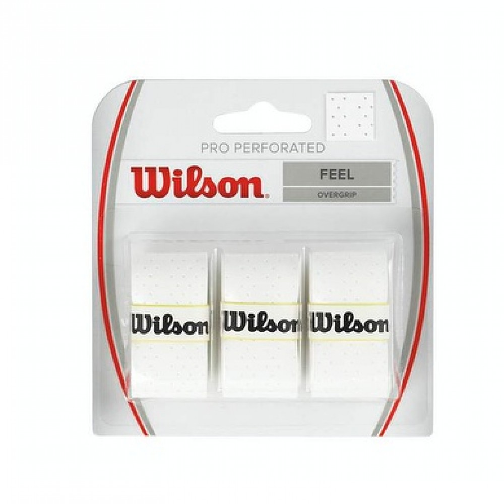 Wilson Pro overgrip perforated-31