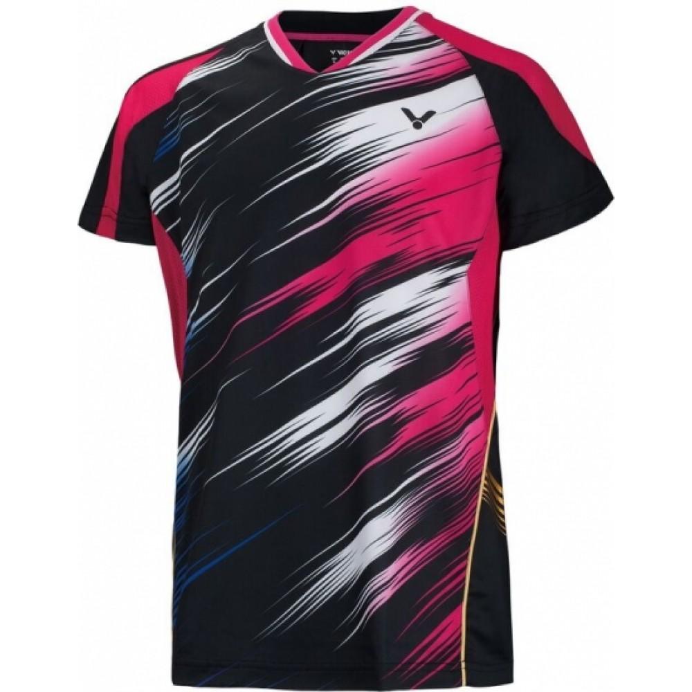 VICTOR T-shirt black OL Korea-31