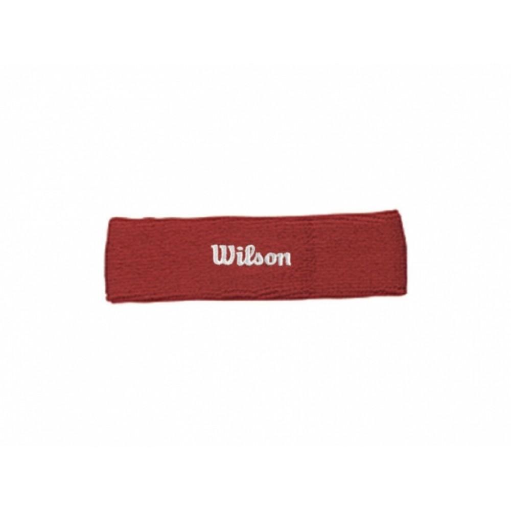 Wilson Headband rød-31