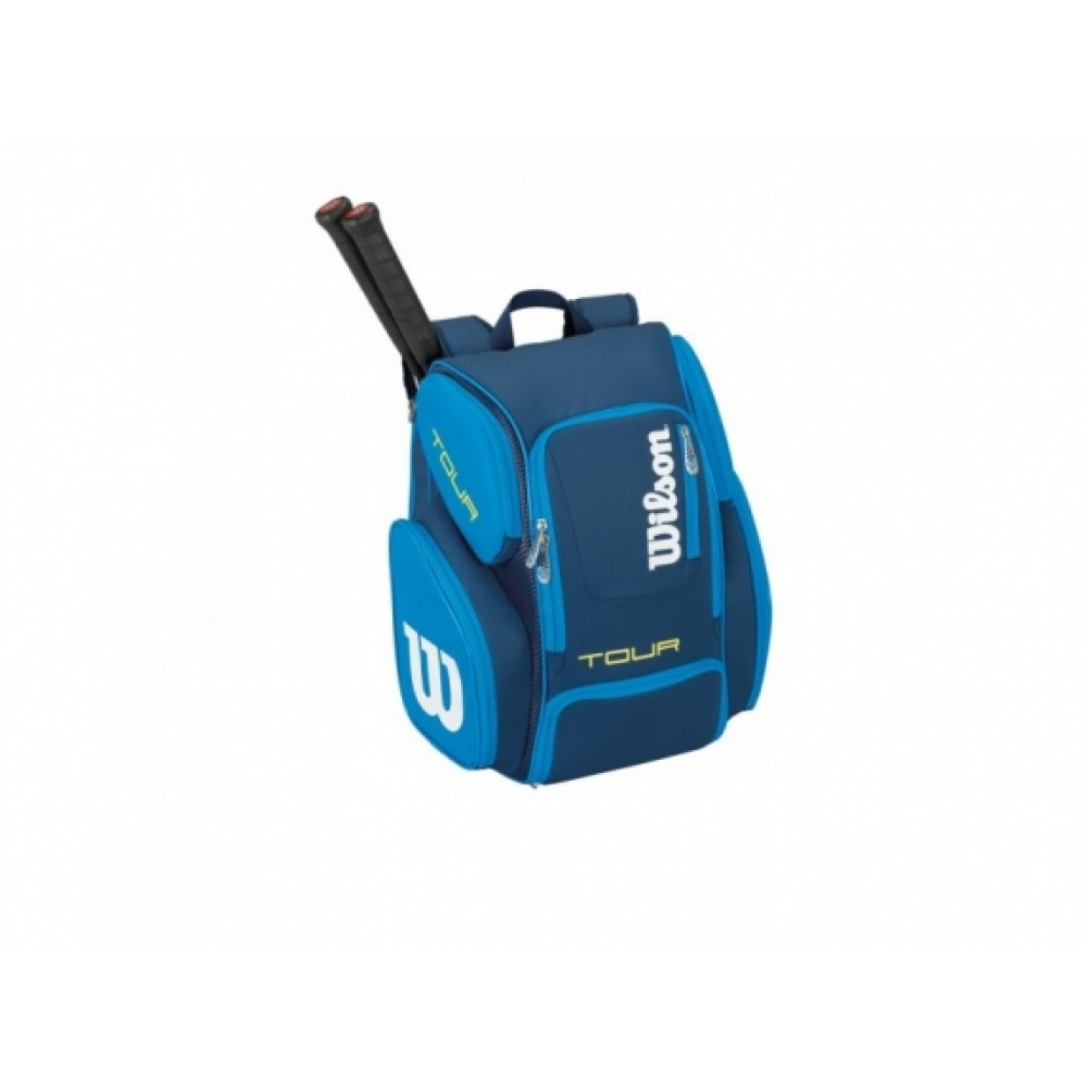 Wilson Tour Backpack large blue-31