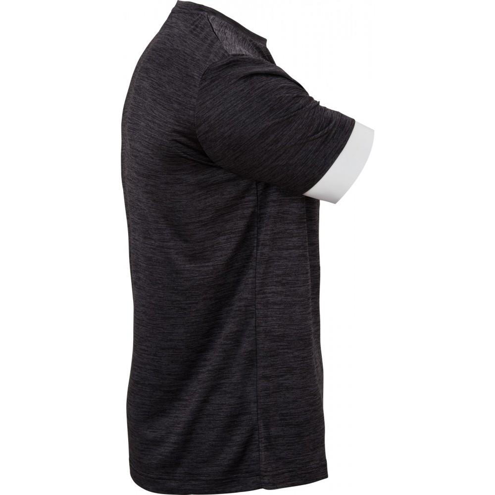Victor T-Shirt black melange 6529-31