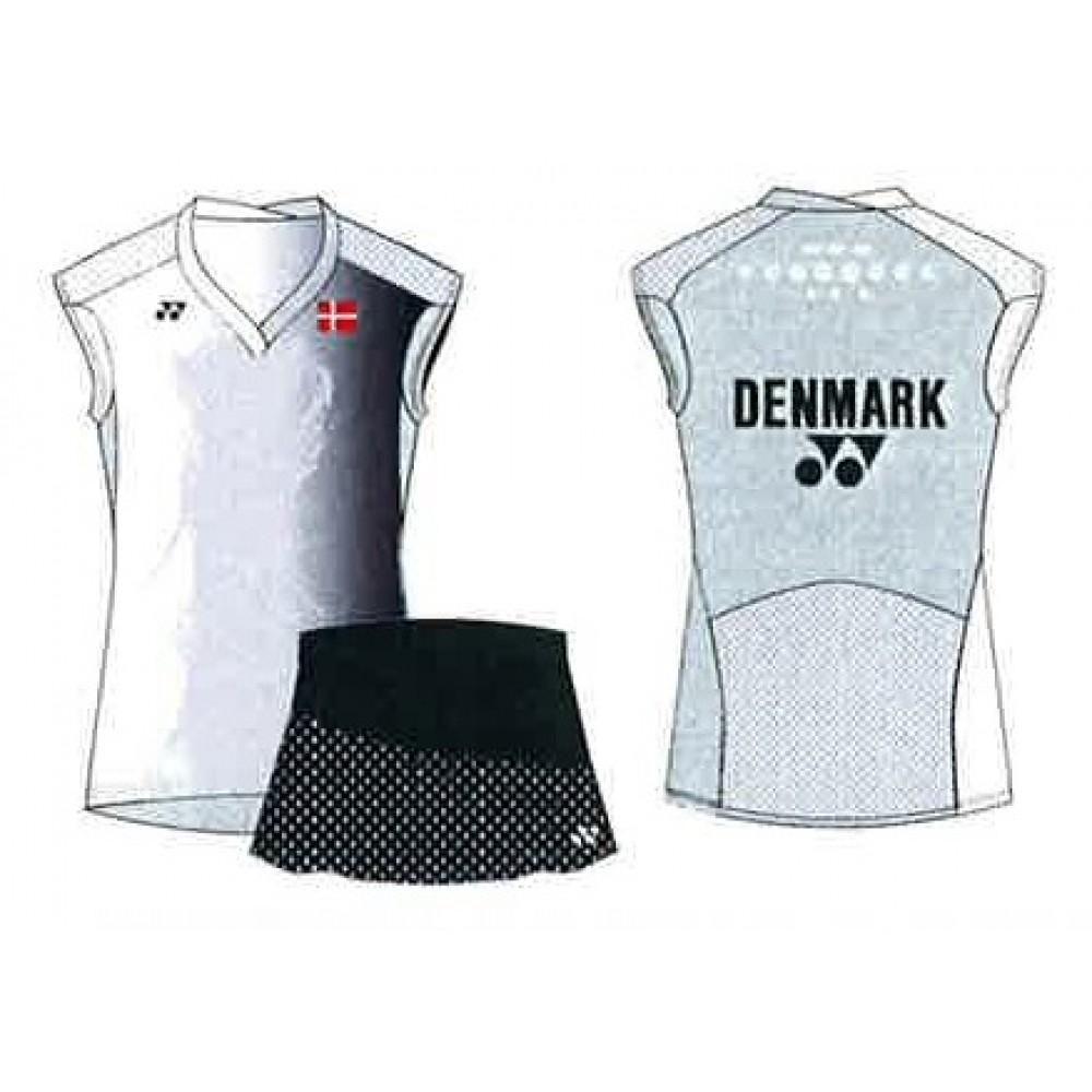 Yonex landsholds t-shirt dame hvid-31