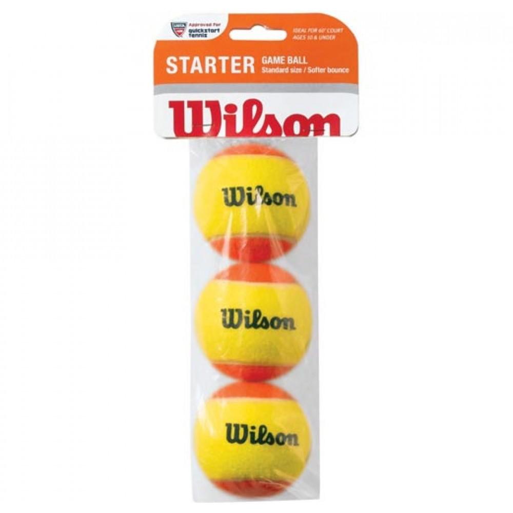Wilson starter Game Ball (orange)-31