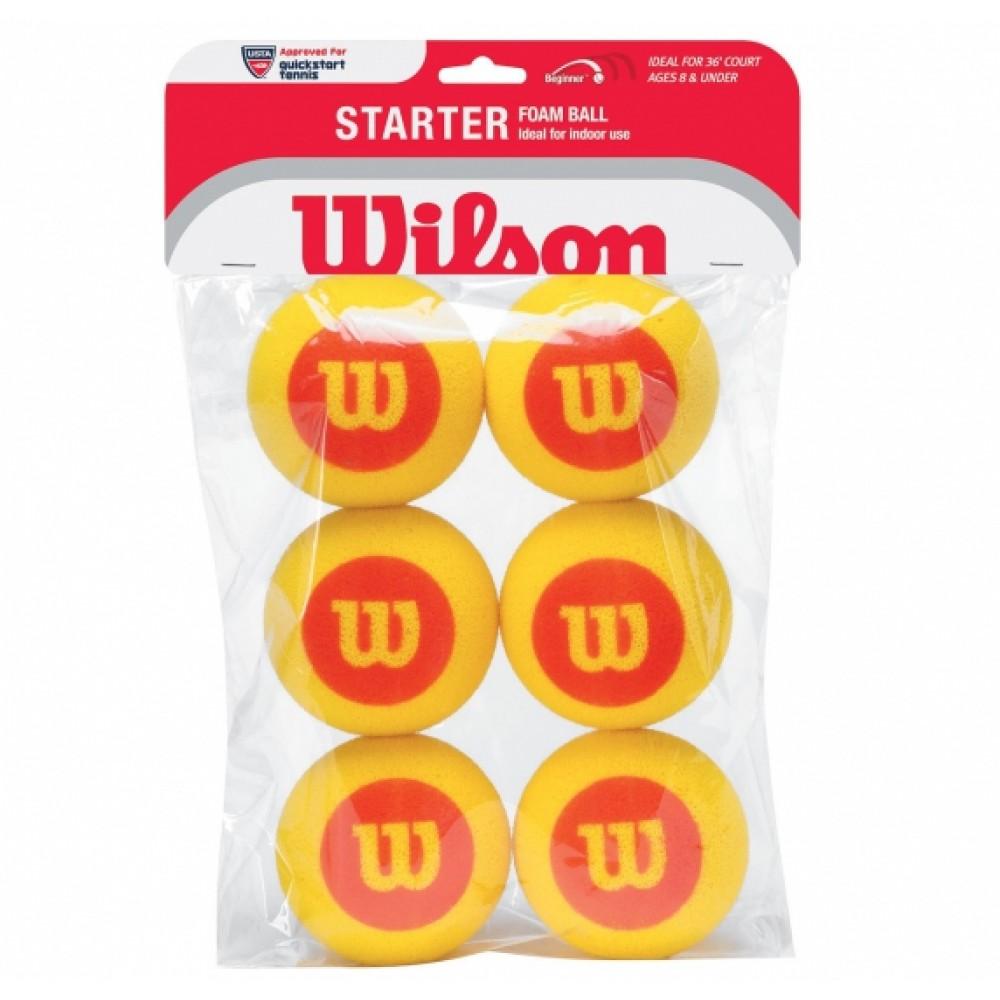 Wilson Starter skumbold 6stk-31