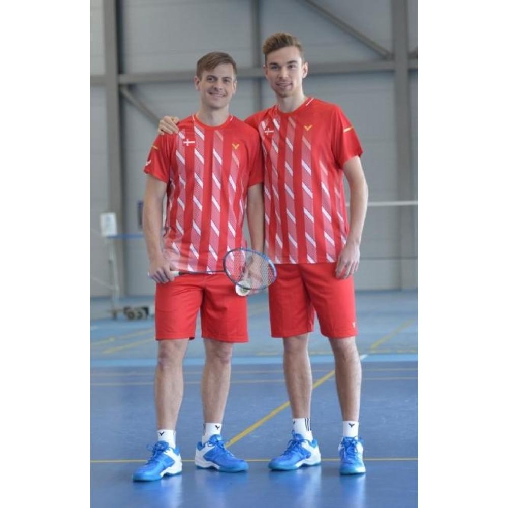 Victor Shirt Denmark Unisex red 6599-31