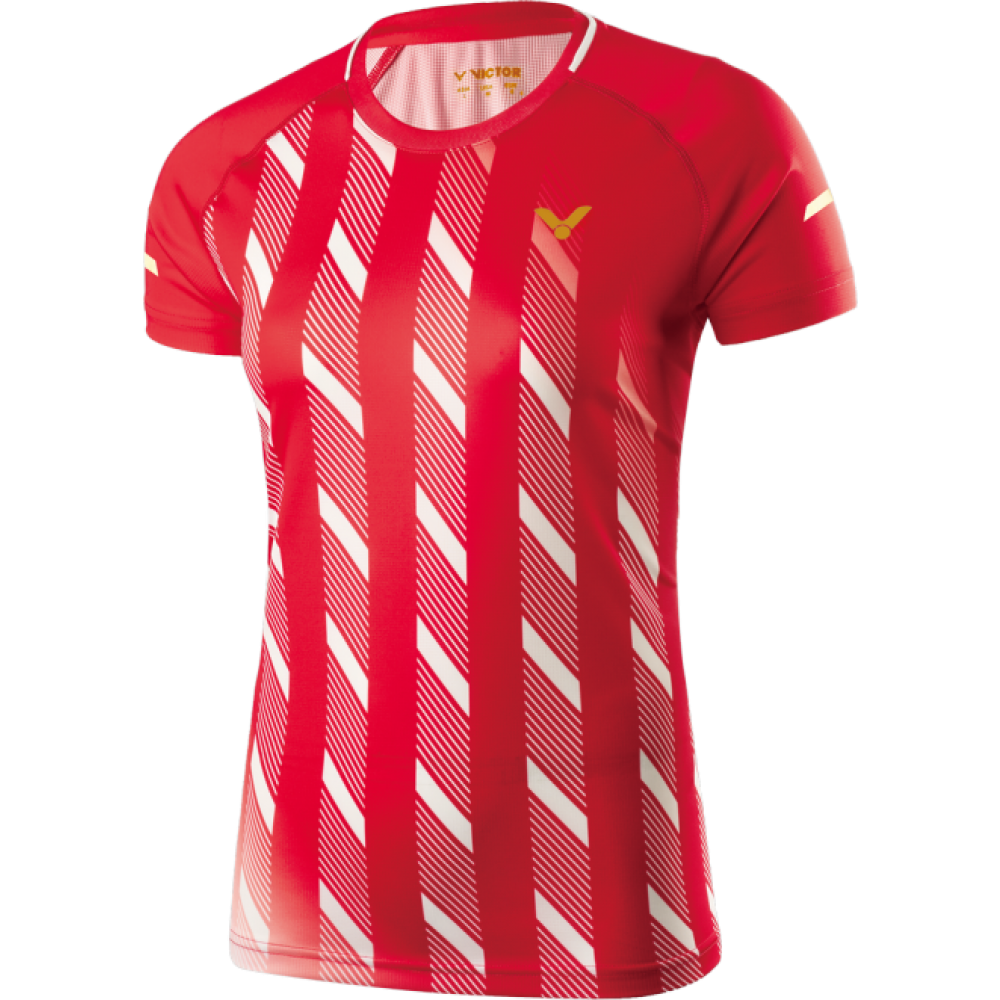 Victor Shirt Denmark Female red 6609-31