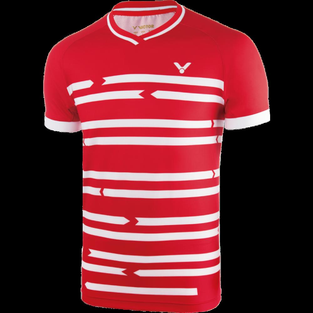 Victor Shirt Denmark Unisex red-33