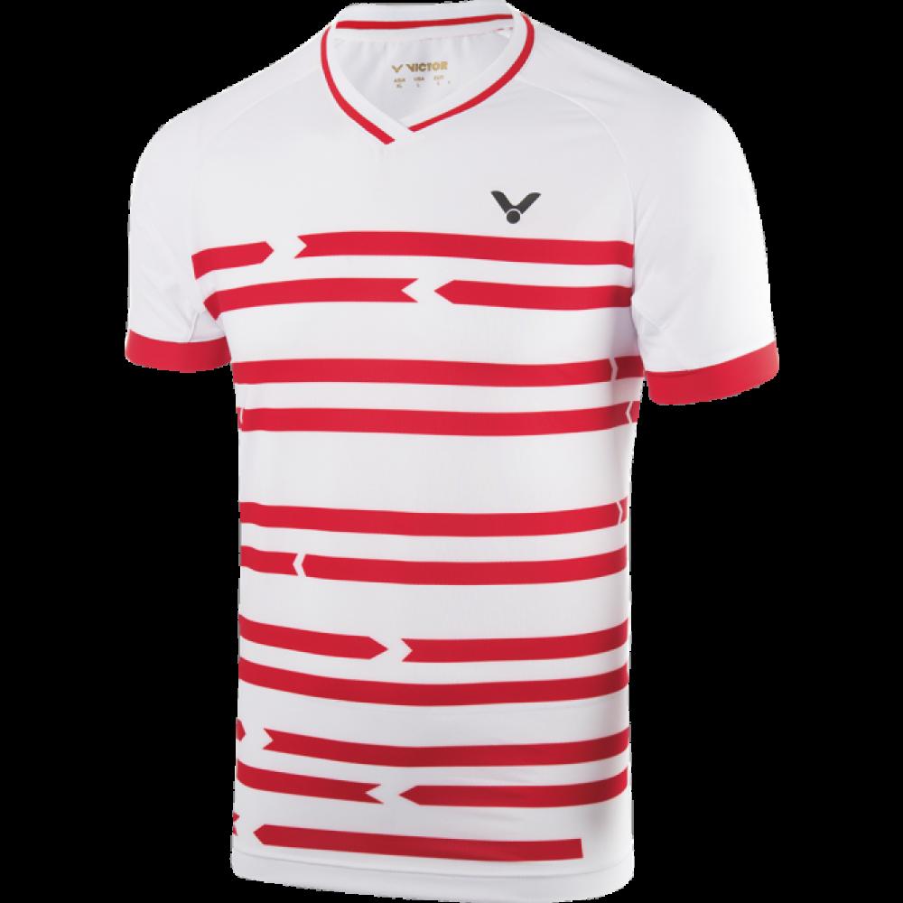 Victor Shirt Denmark Unisex white-32