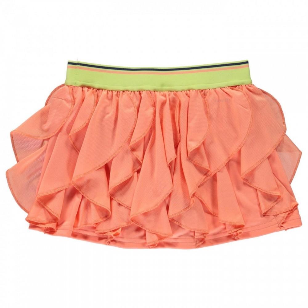 adidas girls Frilly Skirt koral-32