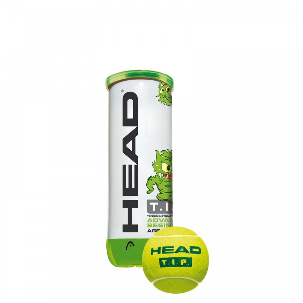 HEAD T.I.P grøn bold (12 bolde)-35