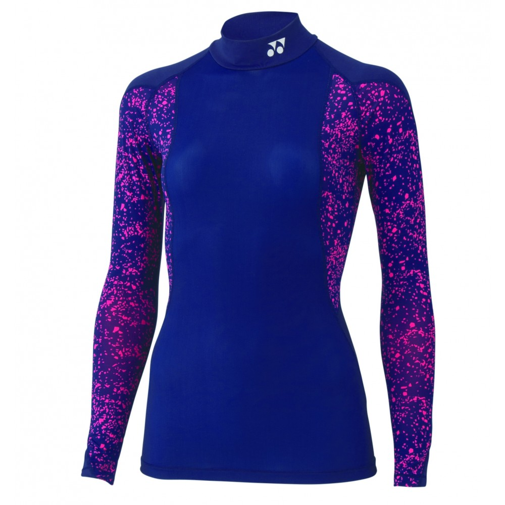 Yonex Ladies long sleeve compression navy-33