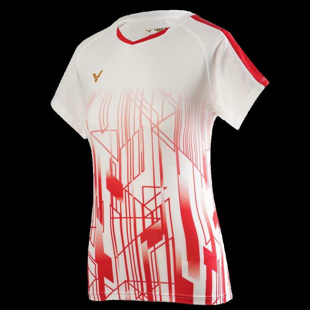 Victor Denmark Team Women T-shirt 2020 white-38