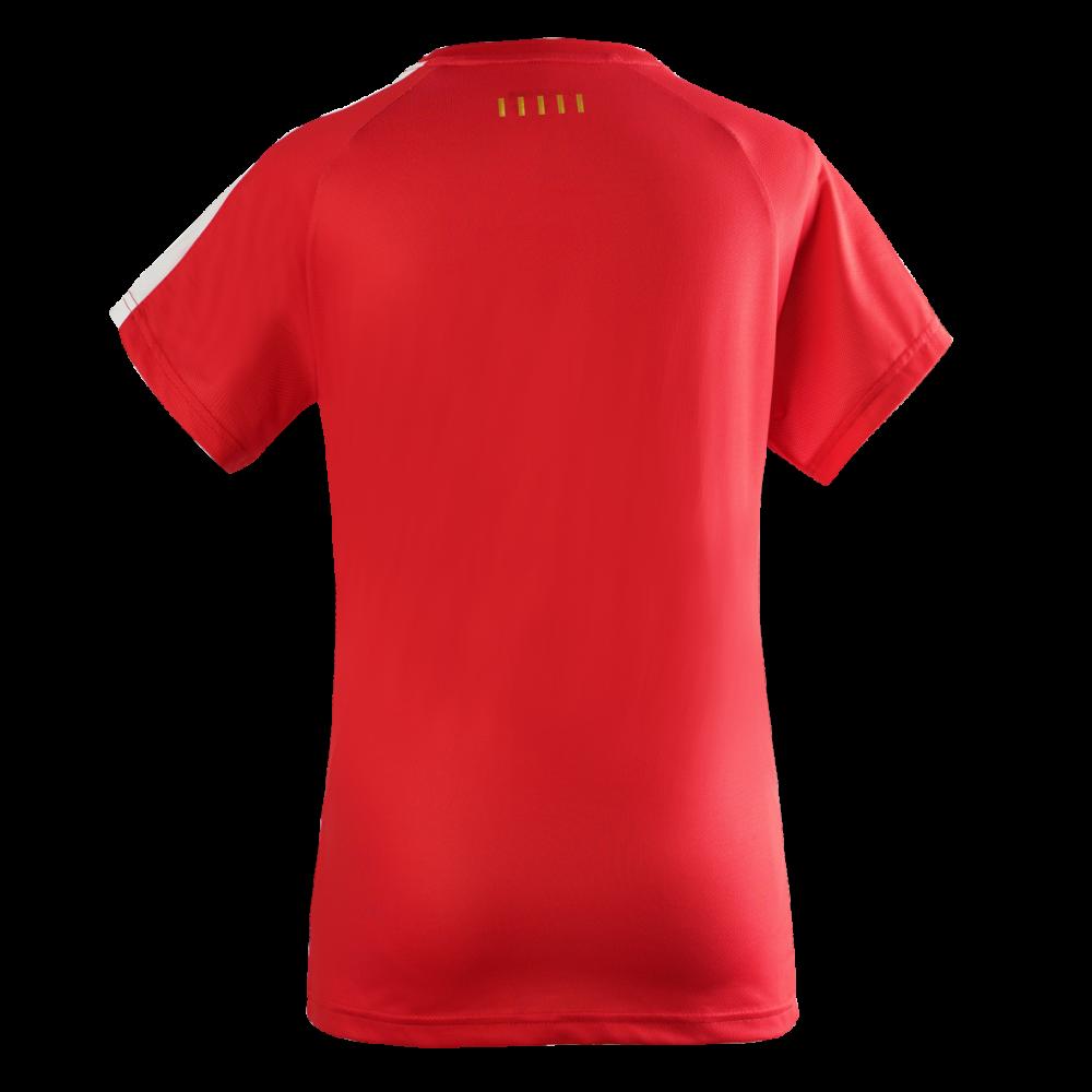 Victor Denmark Team Women T-shirt 2020 red-36