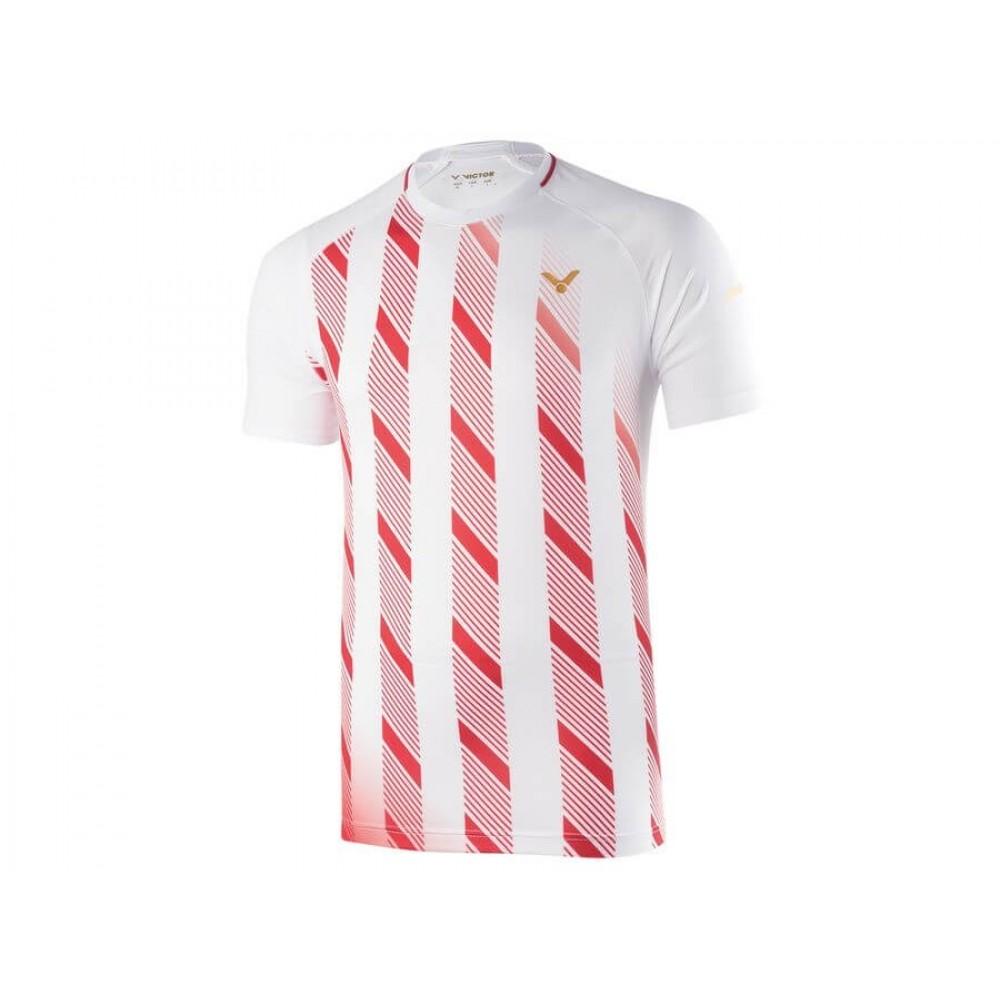 Victor Shirt Denmark Unisex white T-90004A-34