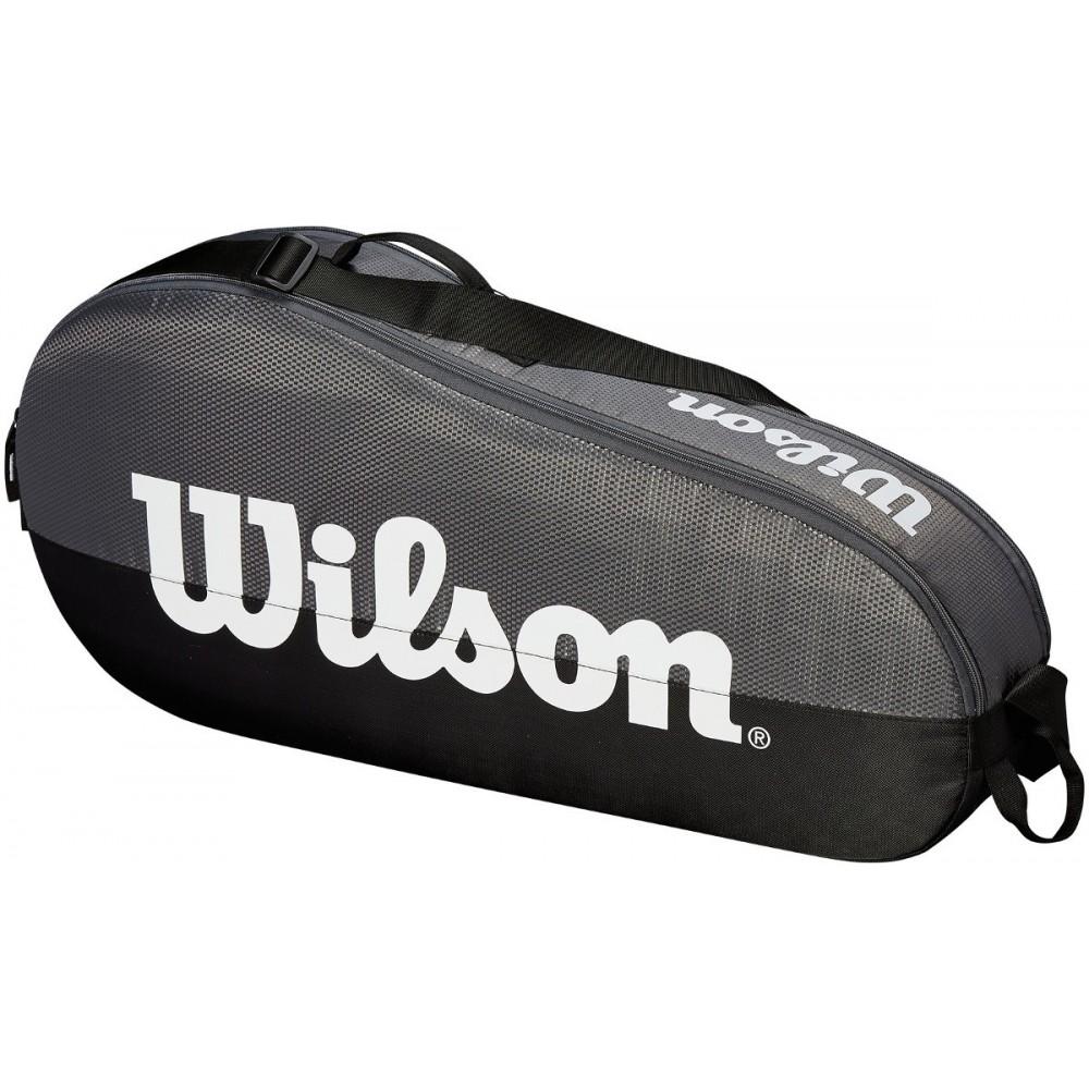 Wilson Team bag grå/sort 1 rum-34