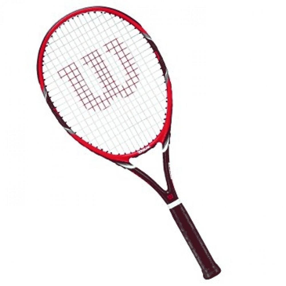 Wilson Federer Team 105 (rød)-31