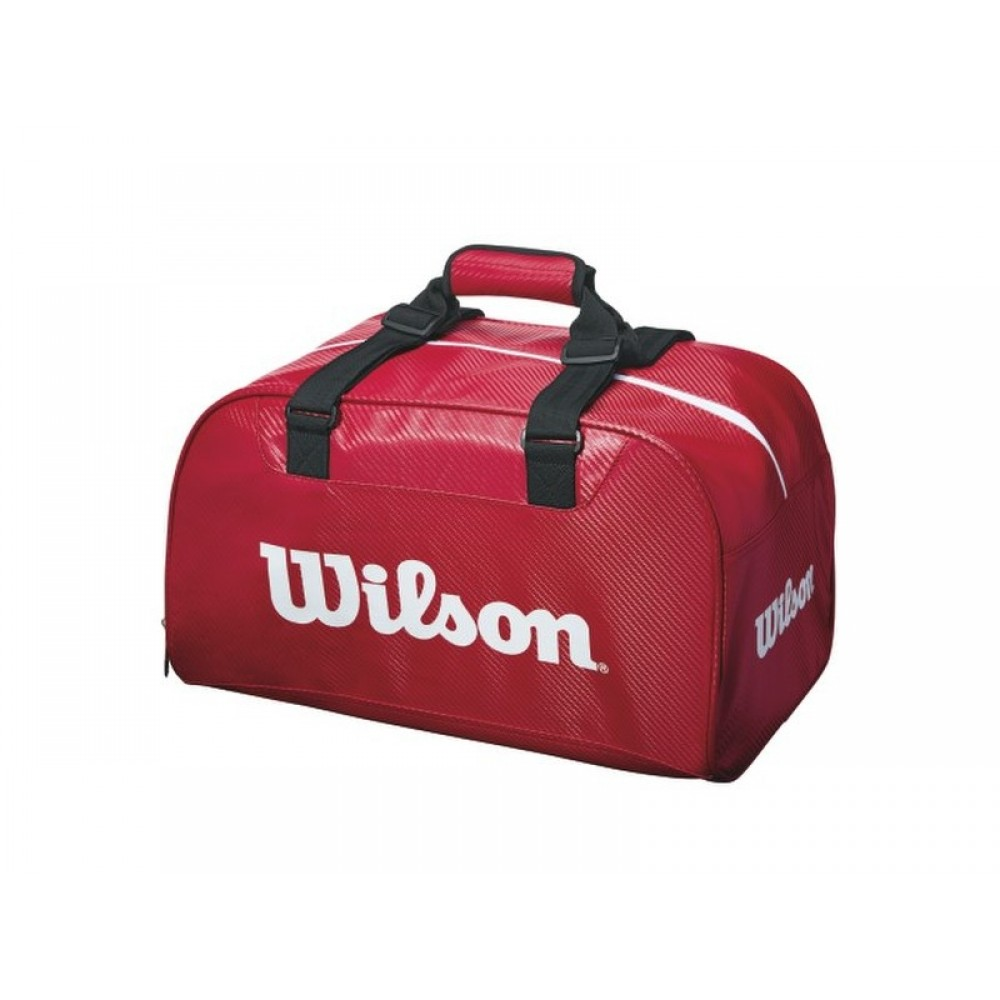 Wilson Red Duffel bag-34