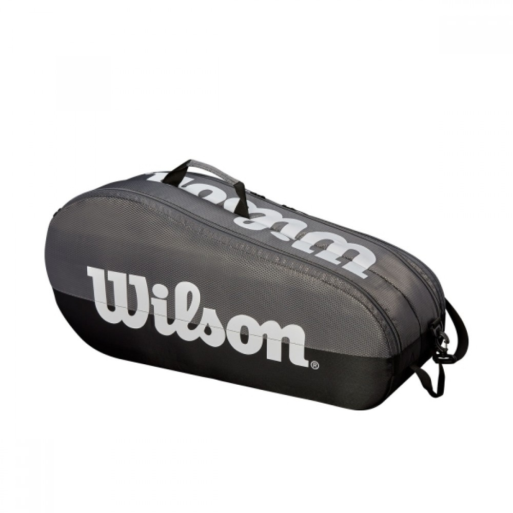 Wilson Team bag grå/sort 2 rum-35