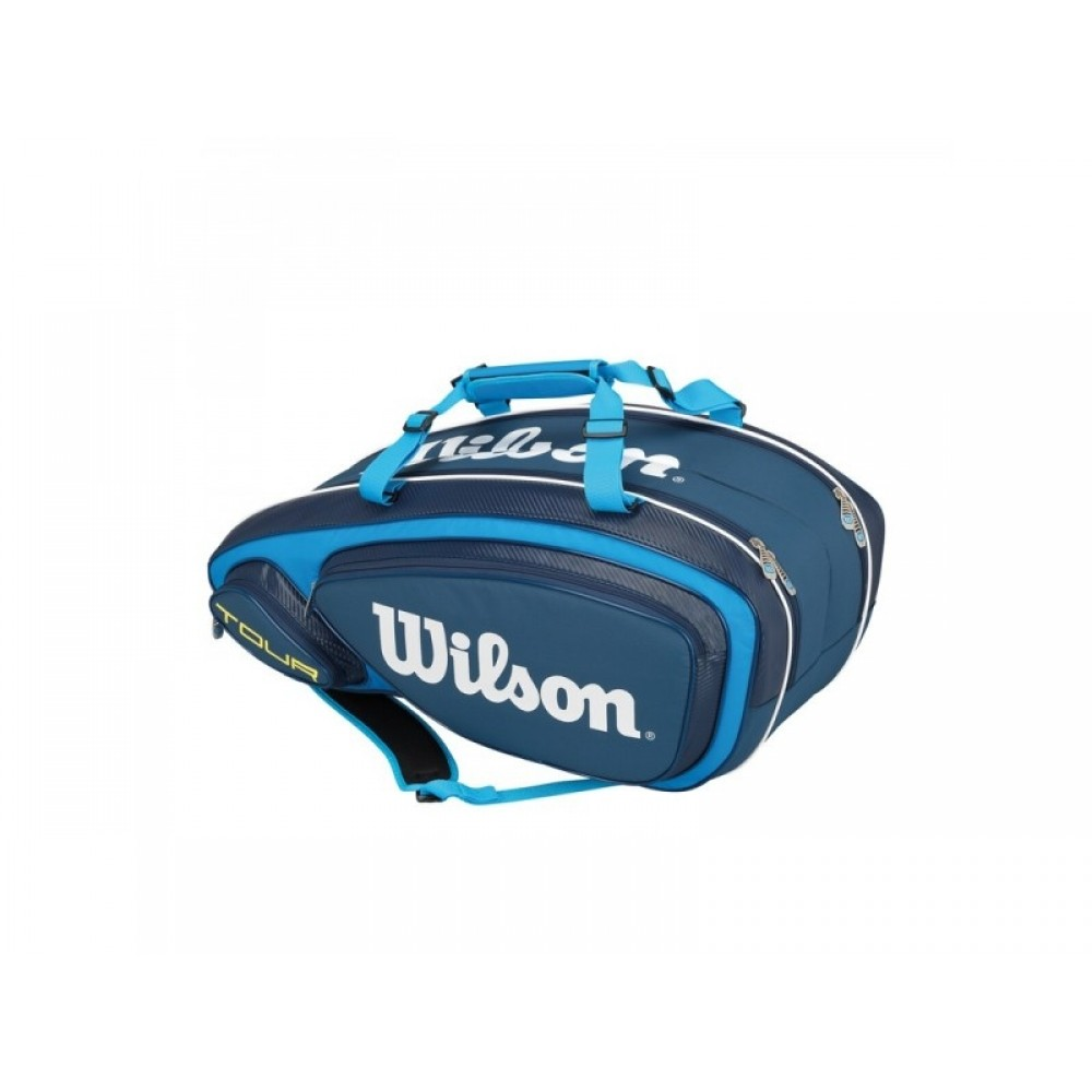 Wilson Tour V 9 pack blue-32