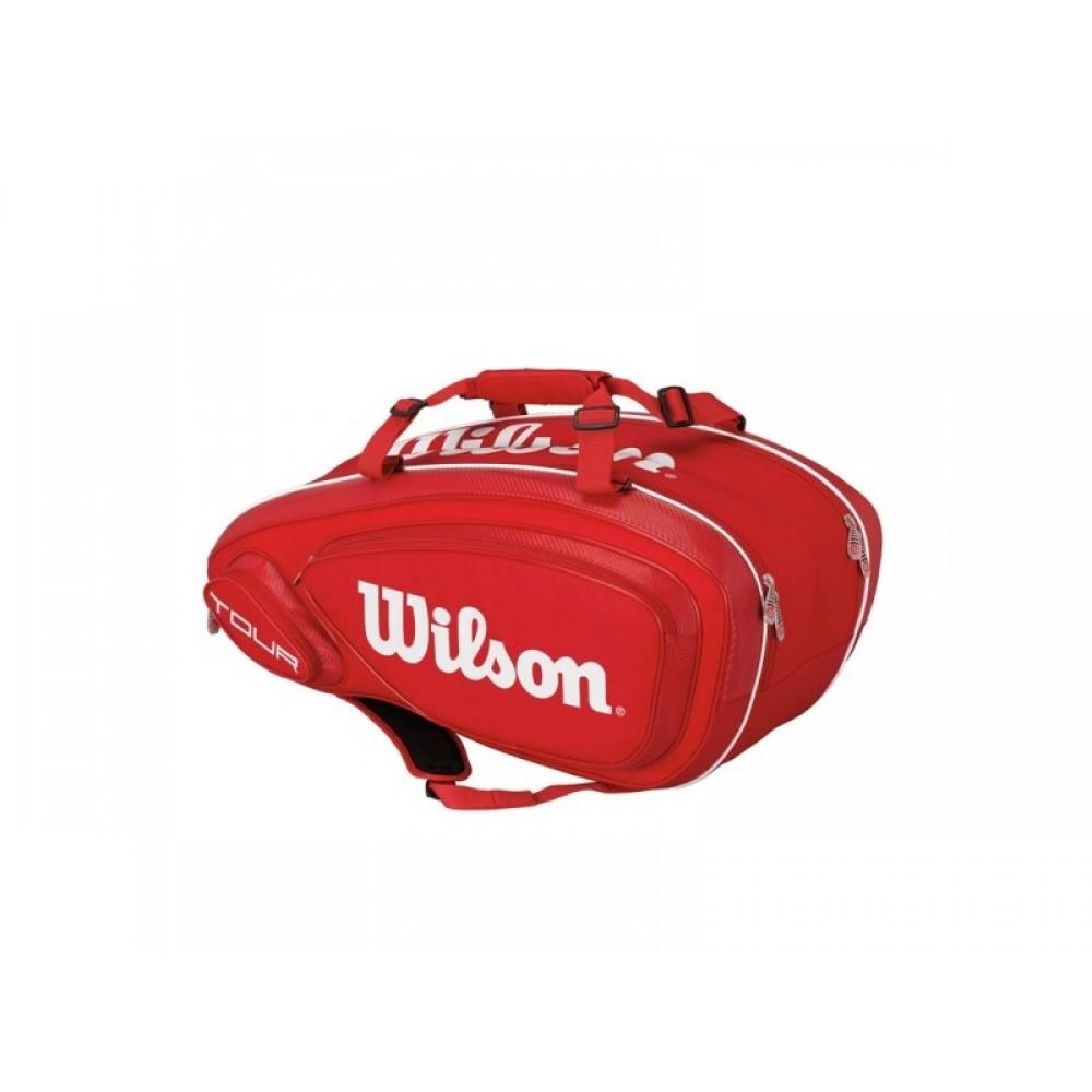 Wilson Tour V 9 pack red-33