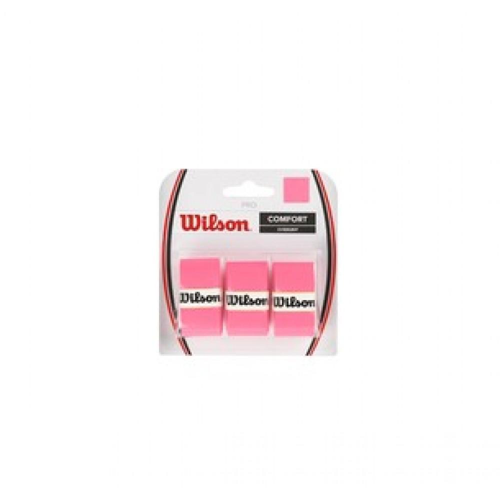 Wilson pro overgrip pink-31