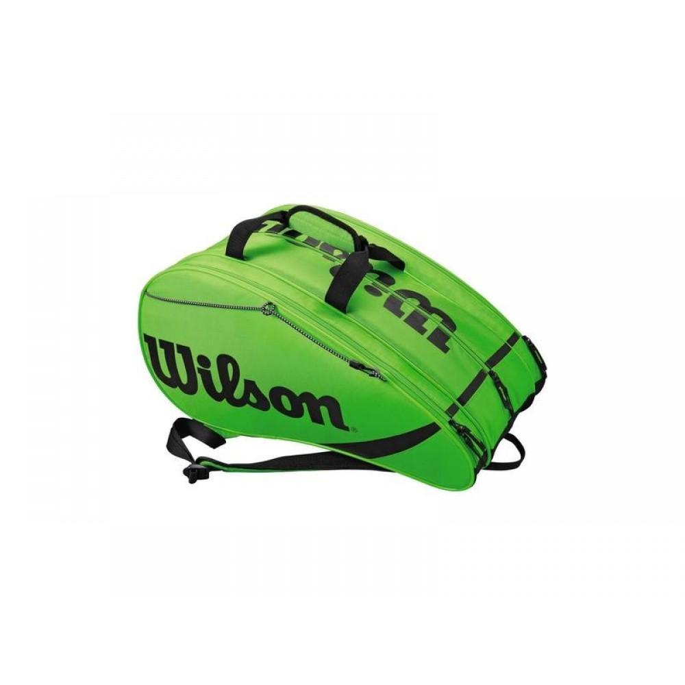 Wilson padel bag rak pak green-39