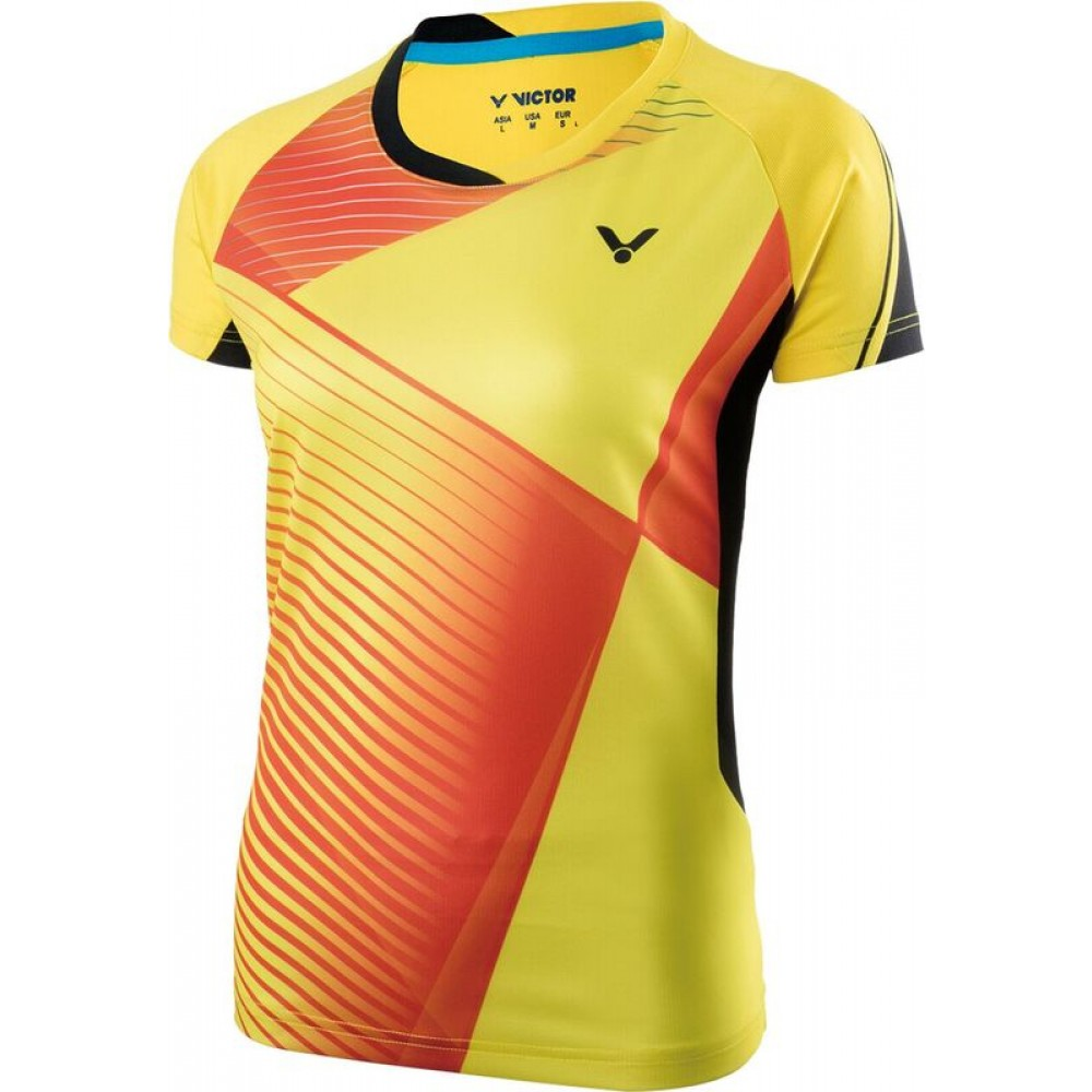 Victor Shirt Female Yellow-31