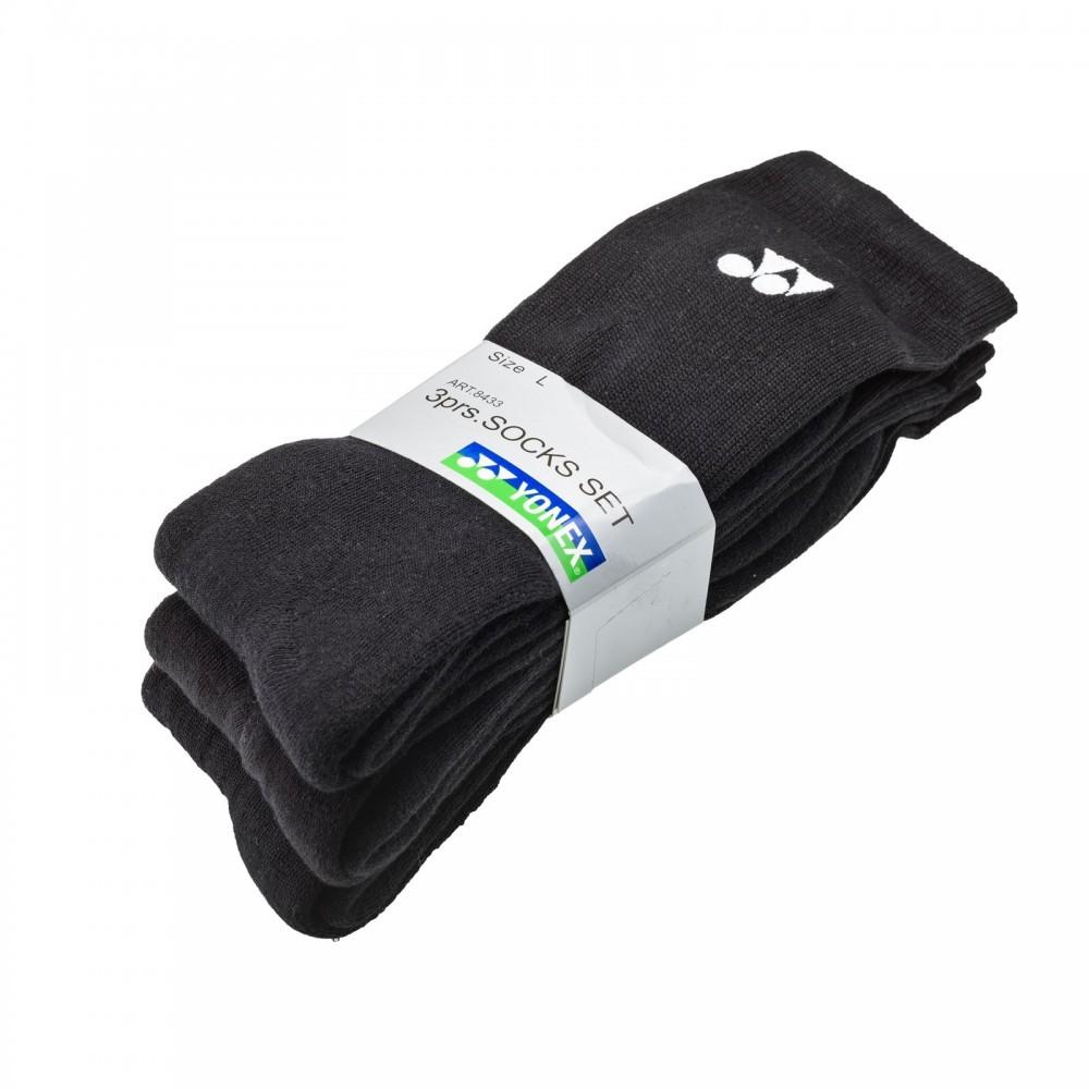 Yonex Socks 3 pack black-31