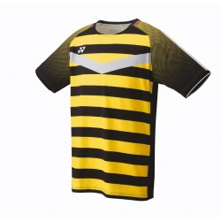 Yonex 10274EXblack/yellow MENS CREW NECK SHIRT-20