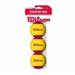 Wilson Starter Easy 3 bolde (rød)-20