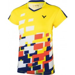 Victor Shirt Malaysia Female yellow 6418-20