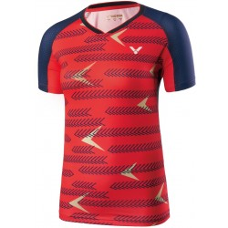 Victor Shirt International Female red 6649-20