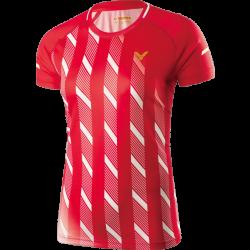 Victor Shirt Denmark Female red 6609-20