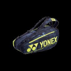 YonexProRacketbag6pcs92026EXblackyellowbadmintontennistaske-20