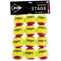 DunlopStage3red12pakstartertennisbolde-20