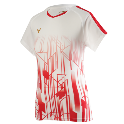 Victor Denmark Team Women T-shirt 2020 white-20
