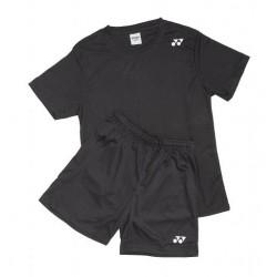 Yonex T-shirt/shorts sæt sort-20