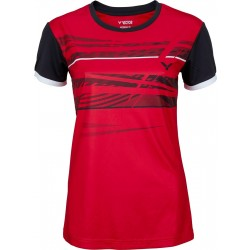 Victor T-shirt Function Female red 6079-20