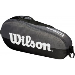 Wilson Team bag grå/sort 1 rum-20