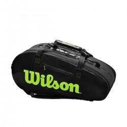 WilsonSuperTour2complargetennistaskesortgrn-20
