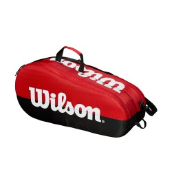 Wilson Team bag sort/rød 2 rum-20