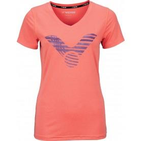 Victor T-shirt melon melange 6529-20