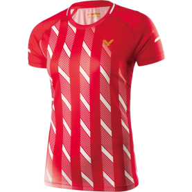 Victor Shirt Denmark Female red 6609-20