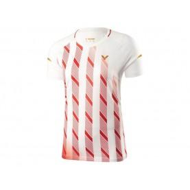 Victor Shirt Denmark Female white T-91004A-20