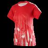 Victor Denmark Team Women T-shirt 2020 red-06