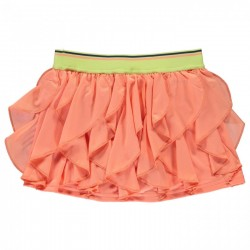 adidas girls Frilly Skirt - koral