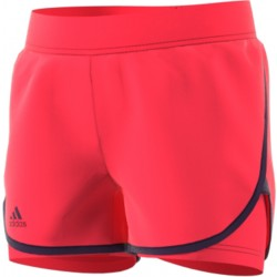 adidas girls Club Short - shock red