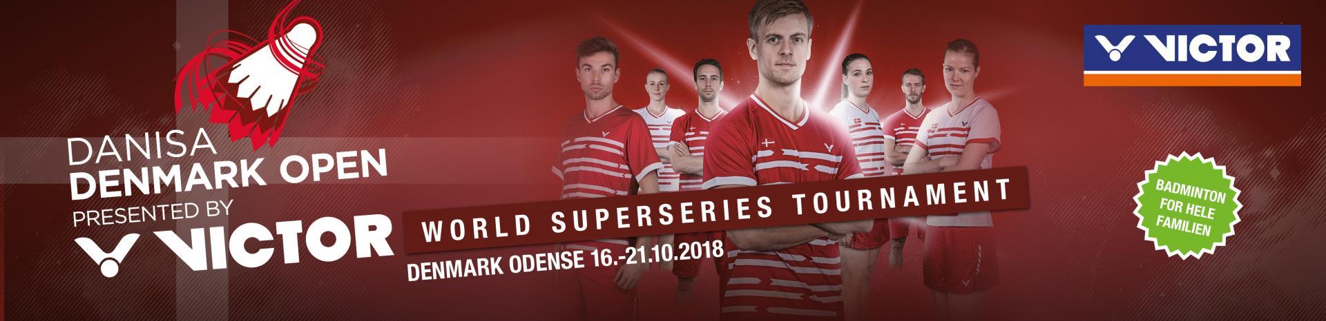 Denmark Open 2018