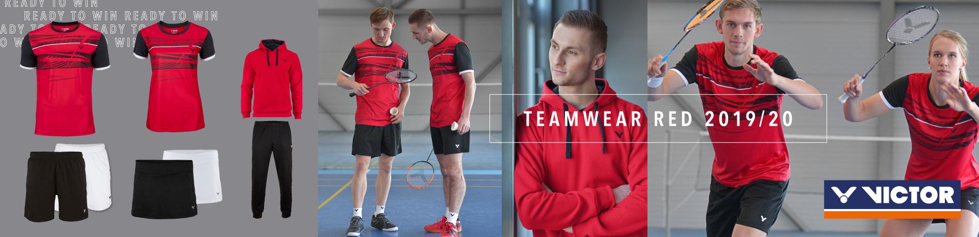 victor teamwear red